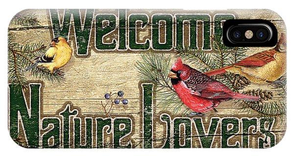 Cardinal iPhone Case - Welcome Nature Lovers by JQ Licensing