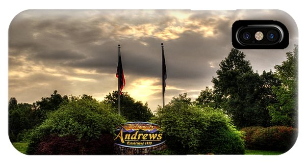 Welcome To Andrews North Carolina IPhone Case