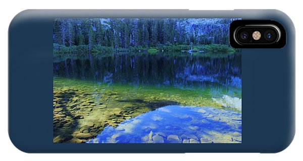 IPhone Case featuring the photograph Welcome To Eagle Lake by Sean Sarsfield