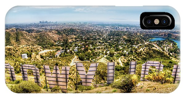 Movie iPhone Case - Welcome To Hollywood by Natasha Bishop