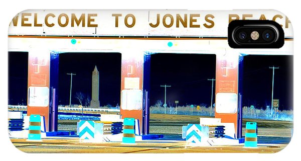 Welcome To Jones Beach IPhone Case