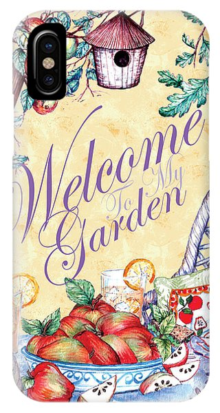 Welcome To My Garden IPhone Case