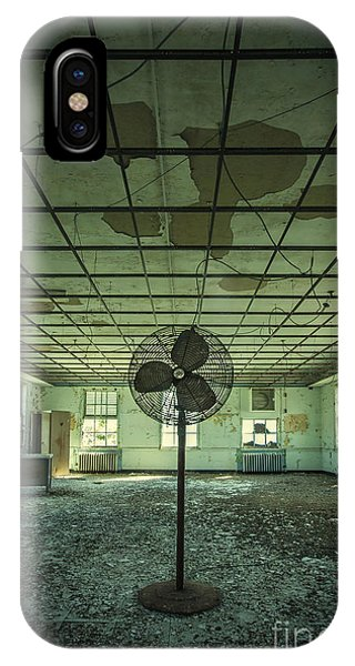 Ceiling iPhone Case - Welcome To The Asylum by Evelina Kremsdorf