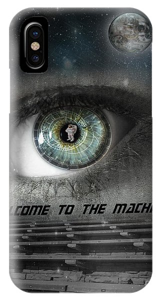 Welcome To The Machine IPhone Case