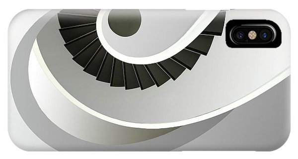 Staircase iPhone Case - Welle by Anette Ohlendorf