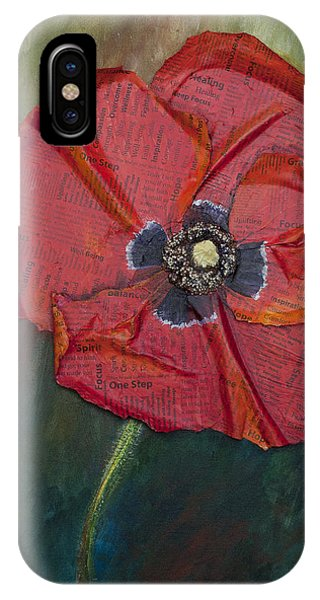 Wellness Poppy IPhone Case