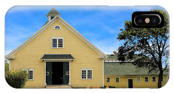 Wells Reserve Barn IPhone Case