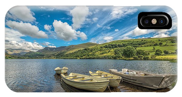 Boat iPhone Case - Welsh Boats by Adrian Evans