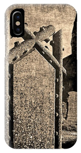 Welsh Graveyard IPhone Case