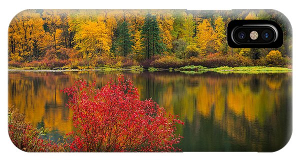 Wenatchee River Reflections IPhone Case