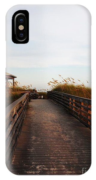 Went For A Stroll On The Boardwalk Phone Case by Meghan Pettis