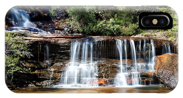 IPhone Case featuring the photograph Wentworth Falls by Yew Kwang