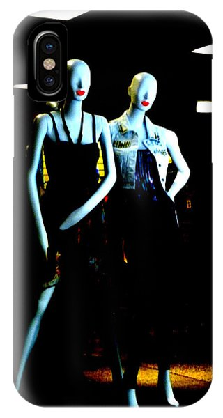 Swanky iPhone Case - We're With The Band by Lin Haring