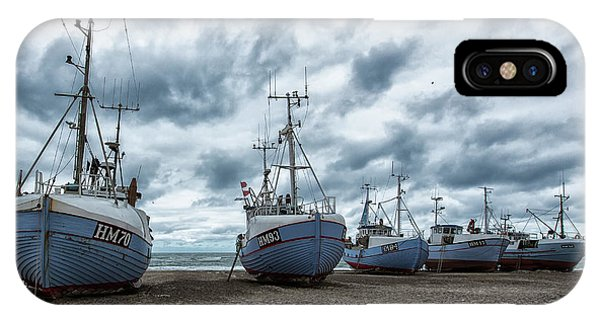 Fishing iPhone Case - West Coast Fishing Boats. by Leif L??ndal