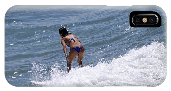 West Coast Surfer Girl IPhone Case