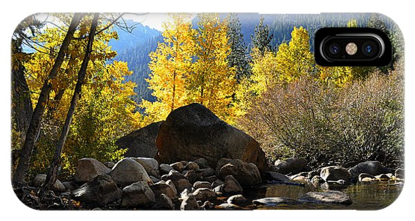 West Fork Of The Carson River IPhone Case
