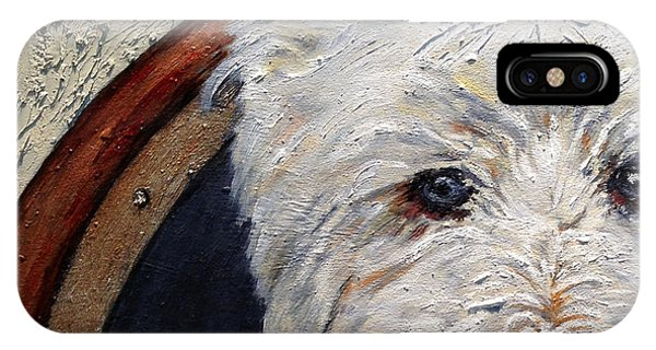 West Highland Terrier Dog Portrait IPhone Case