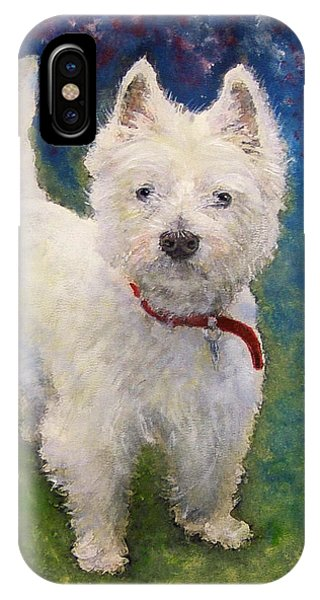 West Highland Terrier Holly IPhone Case