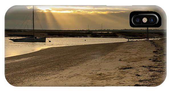West Mersea Beach IPhone Case