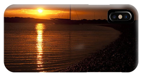 West Mersea Sunset IPhone Case