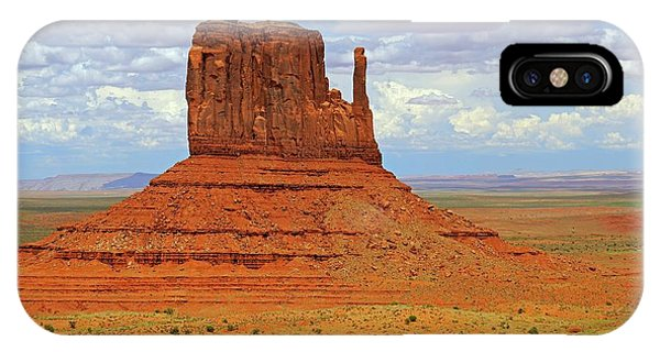 Physical iPhone Case - West Mitten Butte by Bildagentur-online/mcphoto-schulz