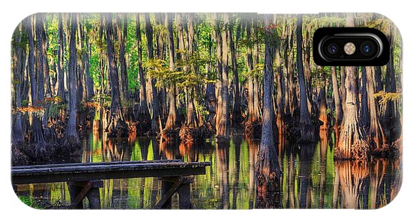 West Monroe Swamp Dock IPhone Case