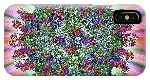 West Nile Virus And Antibodies Phone Case by Laguna Design