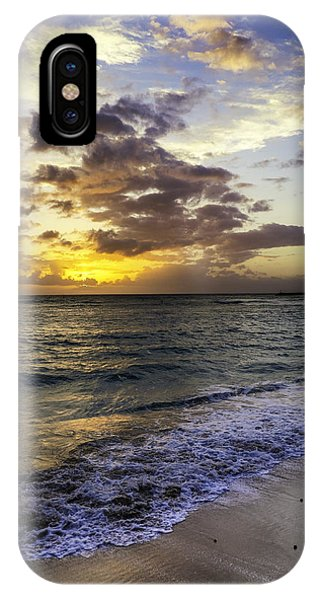 West Oahu Sunset IPhone Case