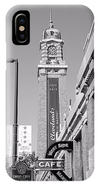 West Side Market Bw IPhone Case