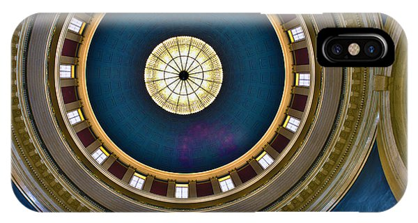 West Virginia State Capital Dome Hdr IPhone Case