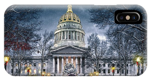 West Virginia State Capitol IPhone Case