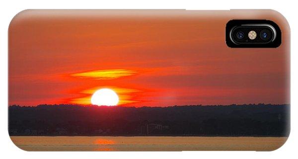 Westbrook Summer Sunset Phone Case by Marjorie Tietjen