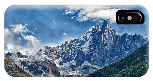 Western Alps In Chamonix IPhone Case