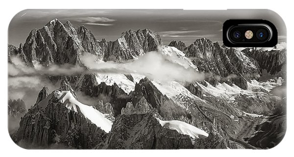 Western Alps - Panorama IPhone Case