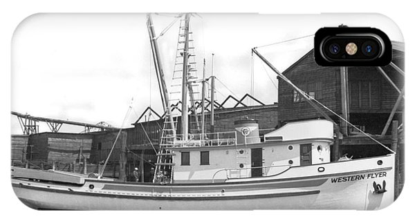 Western Flyer Purse Seiner Tacoma Washington State March 1937 IPhone Case