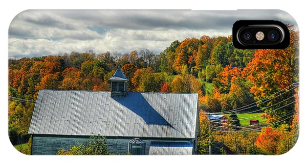 Western Maine Barn IPhone Case