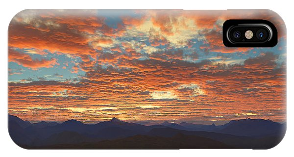 Western Sunset IPhone Case