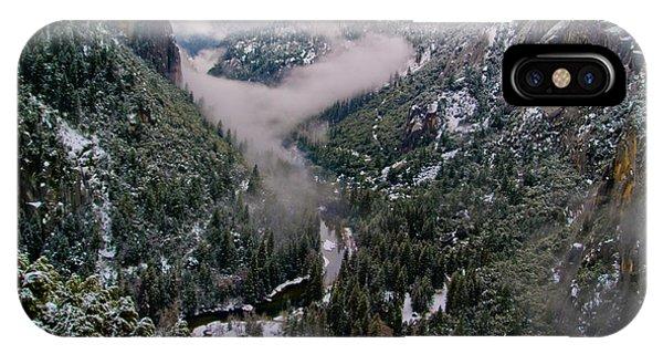 Western Yosemite Valley IPhone Case