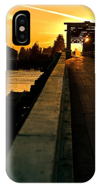Westham Island Bridge IPhone Case