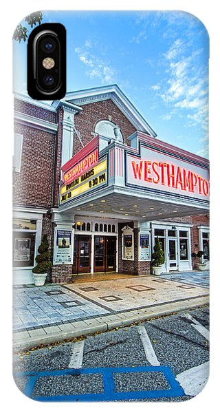 Westhampton Beach Performing Arts Center IPhone Case