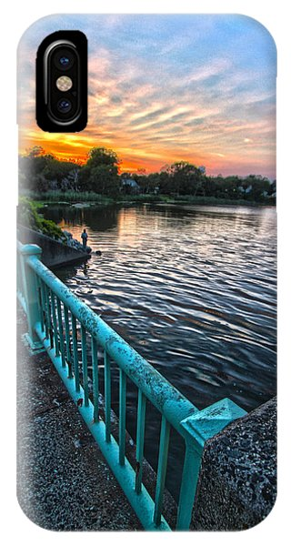 Westhampton-quogue Bridge IPhone Case