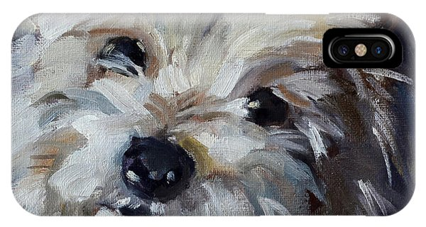 Westie Mix IPhone Case