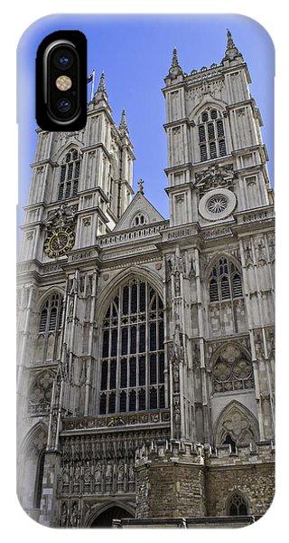 Westminster Abbey iPhone Case - Westminster Abbey. by Fernando Barozza