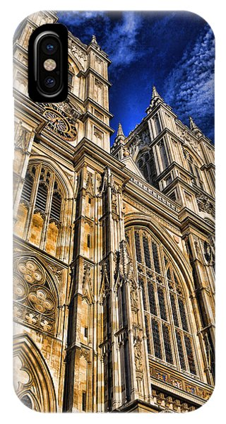 Westminster Abbey West Front IPhone Case
