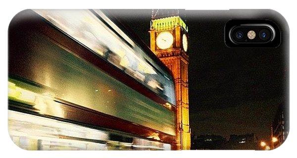 London Bridge iPhone Case - #westminster #bridge #bigben #big #ben by Frankie Melvin