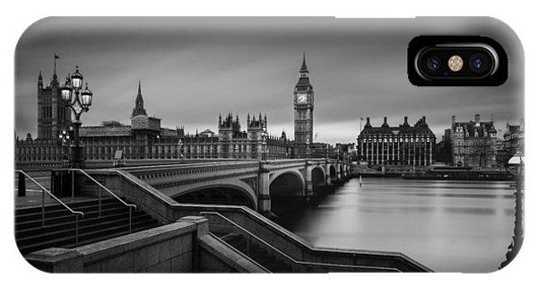 Big Ben iPhone Case - Westminster Bridge by Oscar Lopez