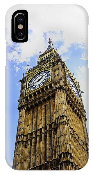 Westminster Clock Tower II IPhone Case