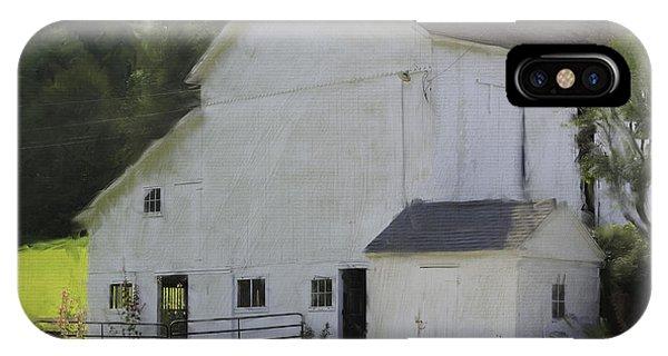 Westport Barn IPhone Case