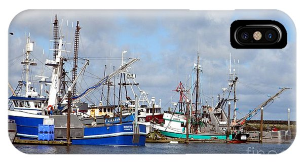 Westport Fishing Boats 2 IPhone Case