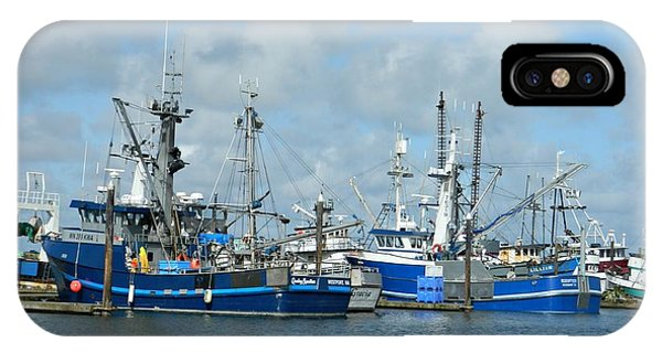 Westport Fishing Boats IPhone Case